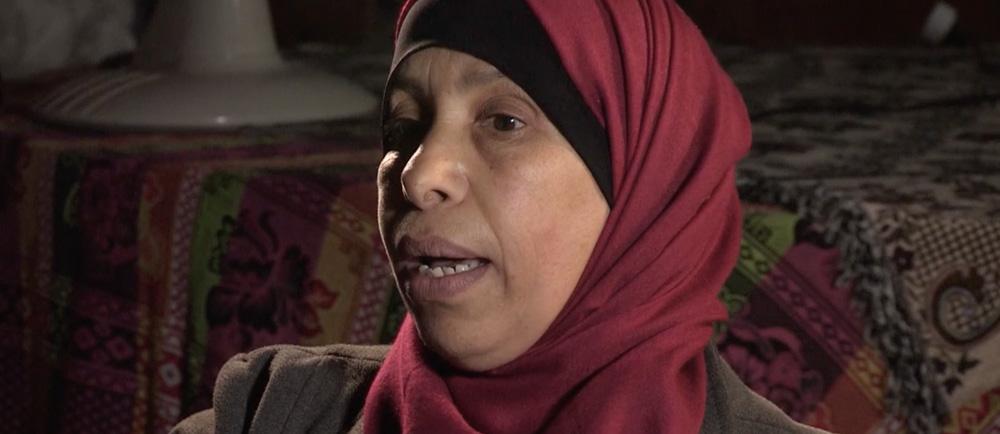 A Bedouin woman.
